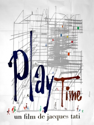 Playtime [Play Time] (Original French grande poster for the 1967 film). Jacques Tati, starring...