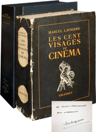 Les Cent Visages du Cinema (Signed First Edition). Marcel LaPierre