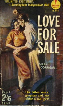 Love for Sale (Vintage Paperback, UK Edition). Mark Corrigan.