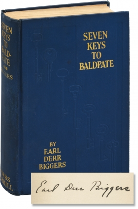 Seven Keys to Baldpate (Signed First Edition). Earl Derr Biggers