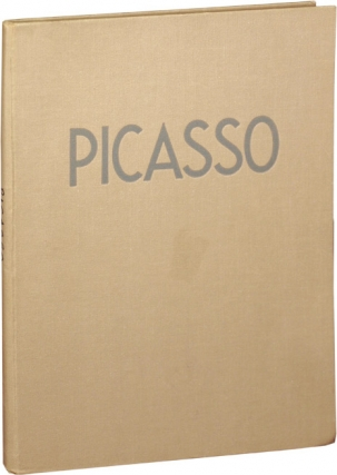Paintings and Drawings of Picasso (First Edition). Picasso, Sabartes Jaime, critical survey