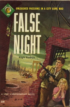 False Night (First Edition). Algis Budrys