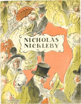 The Life and Adventures of Nicholas Nickleby (Original program for the 1947). Cedric Hardwicke...