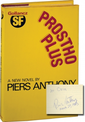 Prostho Plus (Signed First Edition). Piers Anthony.