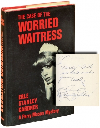 The Case of the Worried Waitress (Signed First Edition). Erle Stanley Gardner
