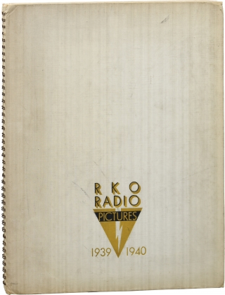 RKO Radio Pictures 1939-1940 Annual. Film Studio Annuals