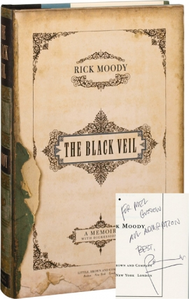 The Black Veil (First Edition, inscribed to Mel Gussow). Rick Moody