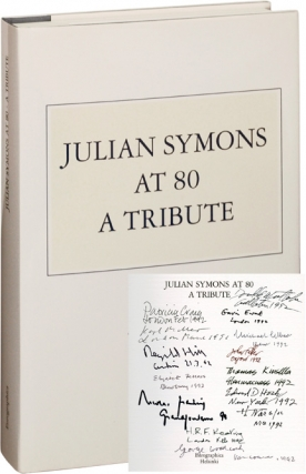 Julian Symons at 80: A Tribute (Signed Limited Edition, Copy No. 1, with original etching by...