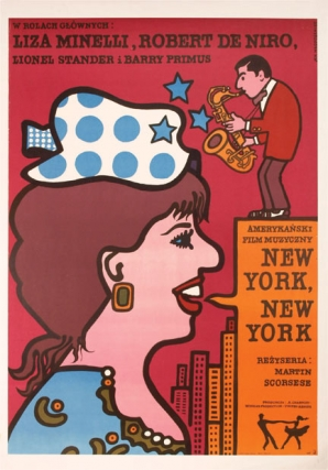 New York, New York (Original Polish poster). Martin Scorsese, Liza Minelli Robert De Niro, Jan...