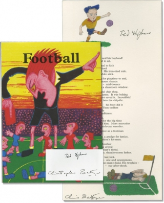 Football (Signed Limited Edition). Ted Hughes, Christopher Battye