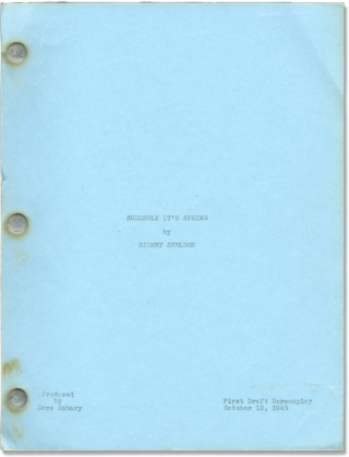 The Bachelor and the Bobby-Soxer [Suddenly It's Spring] (Original screenplay for the 1947 film)....