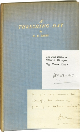 A Threshing Day (Signed Limited Edition, additionally inscribed). H. E. Bates