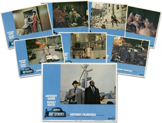 Across 110th Street (Complete Lobby Card set). Wally Ferris, Barry Shear, Luther Davis, Yaphet...