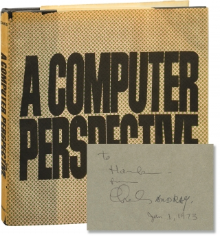 A Computer Perspective (First Edition, inscribed by Charles and Ray Eames to Henry Luce III). Charles Eames, Ray Eames.