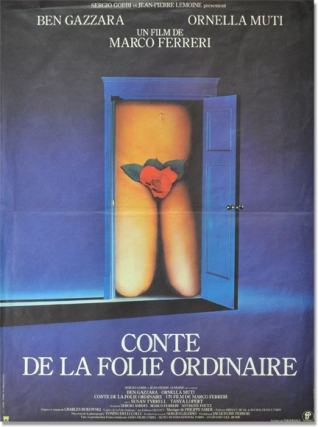 Tales of Ordinary Madness (Original French film poster for the 1981 film). Charles Bukowski,...
