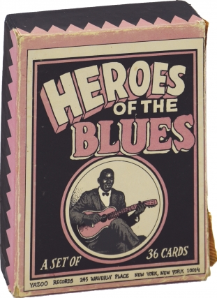 Heroes of the Blues Playing Card Set (First Edition). R. Crumb