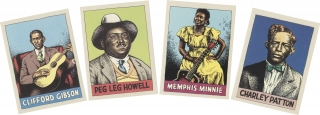 Heroes of the Blues Playing Card Set