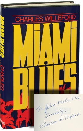 Miami Blues (Signed First Edition). Charles Willeford