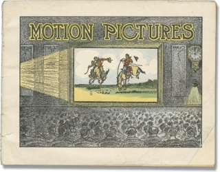 Motion Pictures (First Edition, pamphlet on Patent Medicine and Early Film History). Dr. Miles...