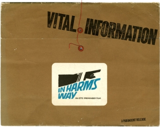 Archive of pressbooks designed by Saul Bass