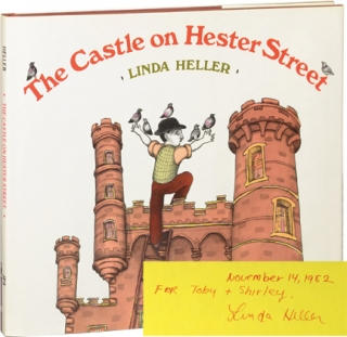 The Castle on Hester Street (Signed First Edition). Linda Heller