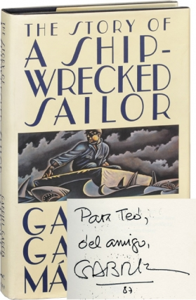 The Story of a Shipwrecked Sailor (Signed First Edition). Gabriel Garcia Marquez