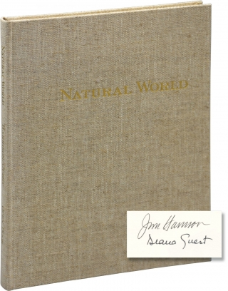 Natural World: A Bestiary (Signed Limited Edition). Jim Harrison, Diana Guest