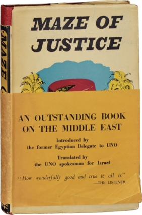 Maze of Justice (First Edition). Tewfik el Hakim, A. S. Eban