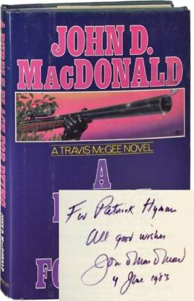 A Purple Place for Dying (First American Edition in hardcover, inscribed in 1983). John D. MacDonald