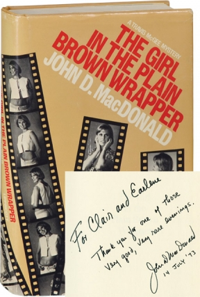 The Girl in the Plain Brown Wrapper (First American Hardcover Edition, inscribed in the year of...