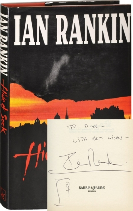 Hide and Seek (First UK Edition, inscribed). Ian Rankin