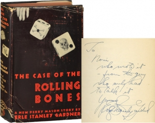 The Case of the Rolling Bones (First Edition, inscribed by Gardner to one of his secretaries)....