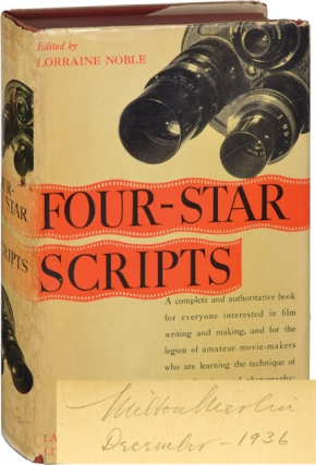 Four-Star Scripts: Actual Shooting Scripts and How They Are Written (First Edition, screenwriter...