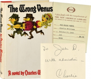 The Wrong Venus (First Edition, inscribed to John D. MacDonald). Charles Williams