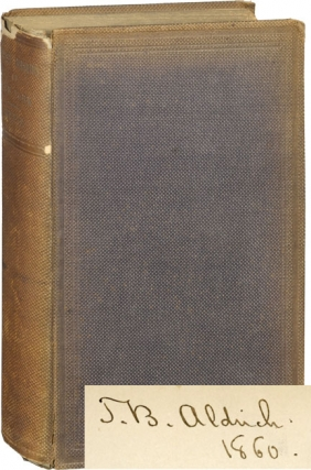 Private Libraries of New York (First Edition, copy belonging to Thomas Bailey Aldrich). James Wynne
