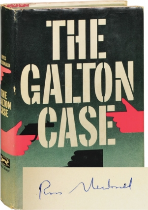 The Galton Case (Signed First Edition). Ross Macdonald