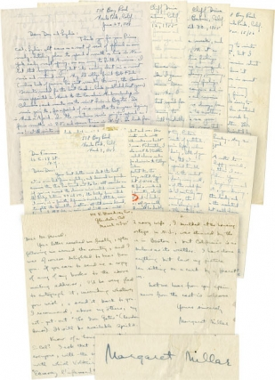 Archive of 6 autograph letters signed to book illustrator and friend Don Freeman, 1956-1957, and...