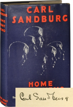 Home Front Memo (Signed First Edition). Carl Sandburg
