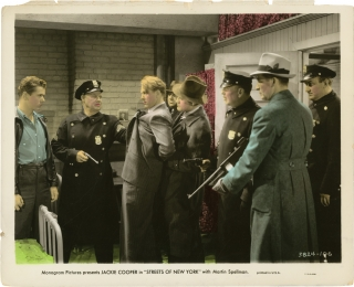 Streets of New York (Original still photograph from the 1939 film). Jackie Cooper, Martin...