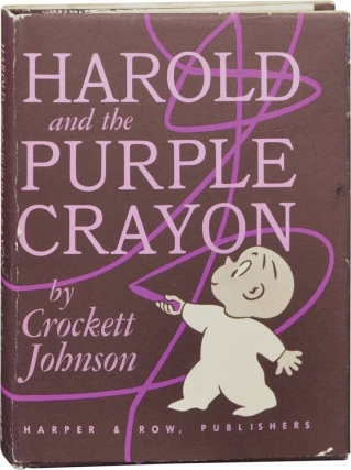 Harold and the Purple Crayon (First Edition, second issue). Crockett Johnson