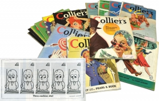 """The Little Man with the Eyes"" in 37 issues of Collier's Magazine 1940-1942"
