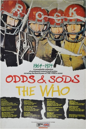 Odds and Sods (Original poster for the 1974 album). The Who