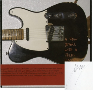 A Few Years with a Telecaster (Signed First Edition). John Gossage
