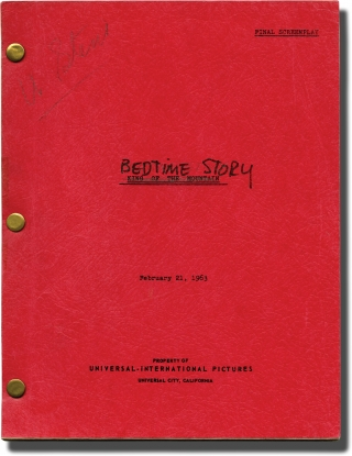 Bedtime Story (Original screenplay for the 1964 film). Ralph Levy, Stanley Shapiro, Paul Henning,...