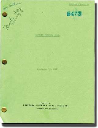 Captain Newman, M.D. (Original screenplay for the 1963 film). David Miller, Richard L. Breen,...
