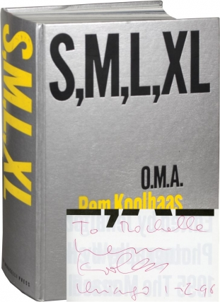 S, M, L, XL [Small, Medium, Large, Extra-Large] (First Edition, inscribed by Koolhaas in January...