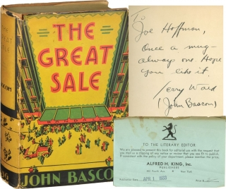 The Great Sale (First Edition, inscribed). Jerry Wald, John Bascom