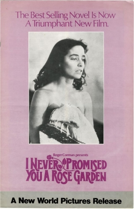 I Never Promised You a Rose Garden (Original Film Pressbook). Roger Corman, Anthony Page, Hannah...