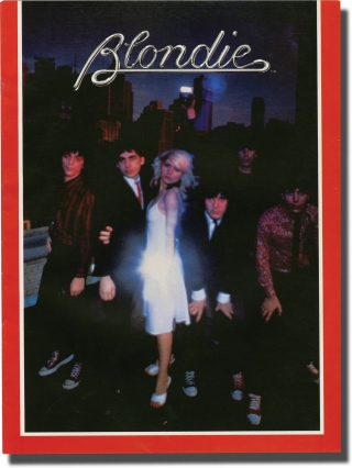 Pressbook for Blondie in support of Parallel Lines, circa 1978. Blondie