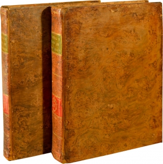 The Life of Samuel Johnson, LL. D., Comprehending an Account of His Studies and Numerous Works, in Chronological Order; a Series of His Epistolary Correspondence and Conversations with Many Eminent Persons; and Various Original Pieces of His Composition, Never Before Published. The Whole Exhibiting a View of Literature and Literary Men in Great-Britain, for Near Half a Century, During Which He Flourished (First UK Edition, in two volumes). Samuel Johnson, James Boswell.